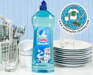 Nước làm bóng chén bát Alio 1l, nhập khẩu chính hãng phân phối vởi imp Hà Nội