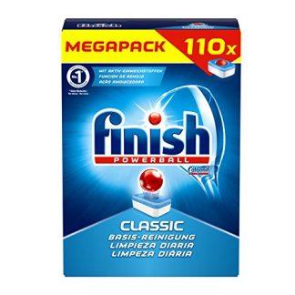 Viên rửa bát Finish Classic Mega Pack 110 viên