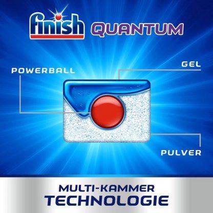 Viên rửa bát finish quantum