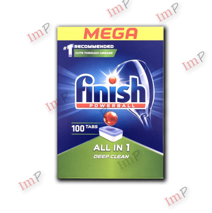 Viên rửa bát Finish all in one Deep Clean 100 viên