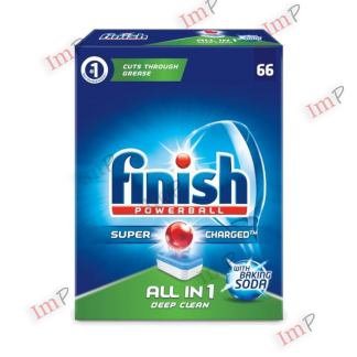 Viên rửa bát Finish all in one Deep Clean 66 viên