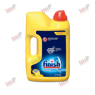 Bột rửa bát Finish Classic Lemon