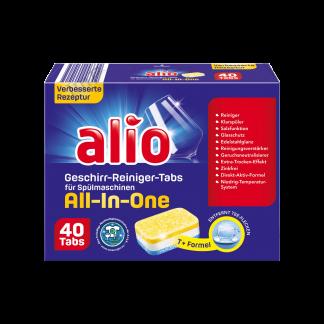 Viên rửa bát Alio All in one 40 viên